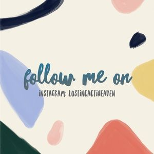 Follow me for new postings!